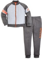 Armani Junior Armani Boys' Heather Track Suit - Sizes 4-7