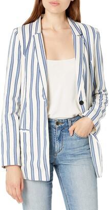 BCBGeneration Women's Striped Blazer
