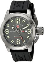 Swiss Legend Men's 10543-GM-014 Submersible Analog Display Swiss Quartz Black Watch