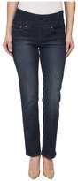 Jag Jeans Petite - Petite Peri Pull-On Straight in Anchor Blue Women's Jeans
