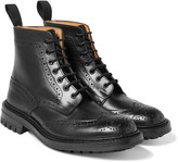 Tricker's - Stow Leather Brogue Boots