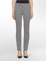 Calvin Klein Body Fit Textured Grid Pants