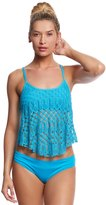 Kenneth Cole Rainbow Connection Flyaway Tankini Top 8158770