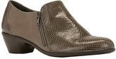Walking Cradles Gray Snake Cadence Leather Bootie