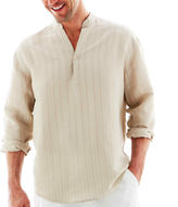 HAVANERA The Havanera Co. Long-Sleeve Popover Shirt