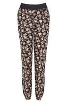 Select Fashion Fashion Womens Orange Elastic Waist Soft Trousers - size 6