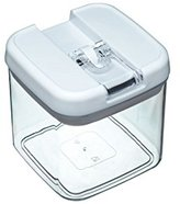 Kitchen Craft Master Class Airtight Plastic Food Container, 1 Litre (1.75 Pints) - Clear
