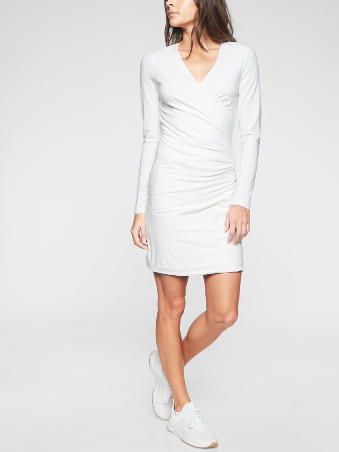 Athleta Wilder Long Sleeve Dress