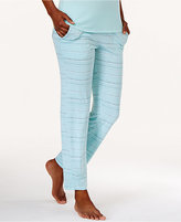 Alfani Printed Knit Slim Pajama Pants, Only at Macy's