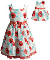 Dollie & Me Girls 4-14 Peony Dress Set