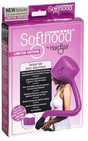 Hair Flair Deluxe Limited Edition Pink Softhood Bonnet Hair Dryer Attachment