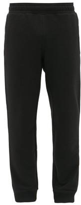 Givenchy Logo-print Cotton-jersey Track Pants - Black