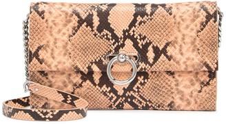 Rebecca Minkoff Jean Sanke Embossed Leather Convertible Clutch