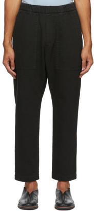 Barena Black Trabaco Trousers
