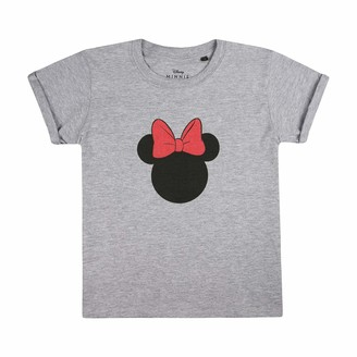 Disney Girls' Minnie Mouse Silhouette T-Shirt