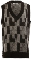 Anrealage knitted tunic vest
