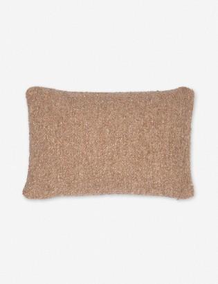 Lulu & Georgia Manon Linen Boucle Lumbar Pillow, Terracotta