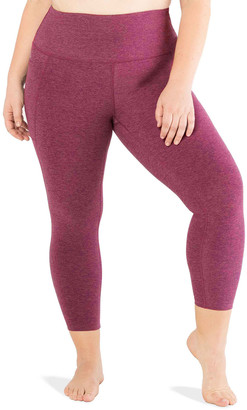 Beyond Yoga Plus Size Out Of Pocket High-Waist Midi Leggings