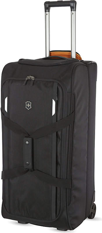 Victorinox Werks Traveller 5.0 two-wheeled duffel case, Black