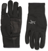 Arc'teryx - Rivet Leather-panelled Polartec® Power Stretch® Tech Gloves