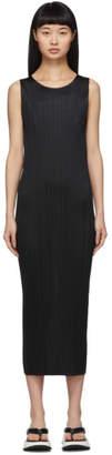 Pleats Please Issey Miyake Black Basics Pleats Dress