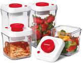 Cuisinart 8-piece Fresh Edge Vacuum Food Storage - Red