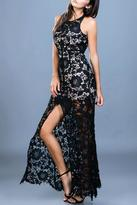 Ark & Co Lace Fitted Maxi Dress