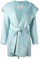 Max Mara wide lapel belted coat