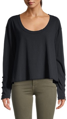 Free People Peony Long-Sleeve T-Shirt