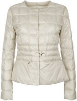 Fay White Light Down Jacket