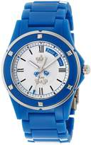 Juicy Couture Women's 1900719 Rich Girl Teal Plastic Bracelet Watch