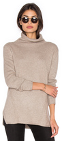 White + Warren Funnel Neck Sweater