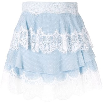 Alice McCall Divine Sister tiered lace skirt