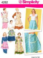 Simplicity Sewing Pattern 4282 Aprons, A (Small - Medium - Large)