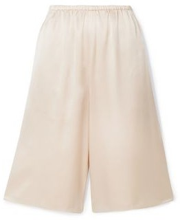 Vince Silk Satin-crepe Shorts
