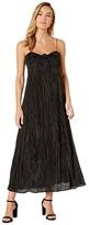 Bardot Maddie Pleat Maxi (Black) Women's Clothing