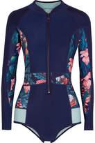 Duskii - Haleakala Printed Swimsuit - Navy
