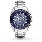 Michael Kors JetMaster Stainless Steel Skeleton Automatic Watch