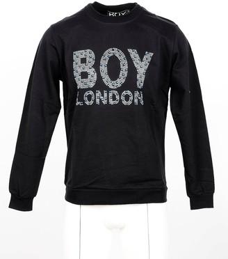 Boy London Black Cotton Signature Men's Sweatshirt
