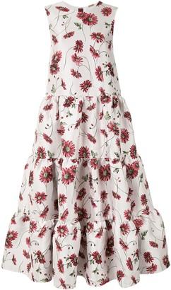 Adam Lippes Daisy Jacquard Maxi Dress