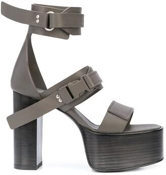 Rick Owens Tecuatl platform sandals