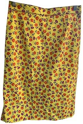 Prada Yellow Denim - Jeans Skirt for Women