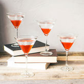 Cathy's Concepts CATHYS CONCEPTS Set Of 4 Personalized Spooky 10-Oz. Martini Glasses