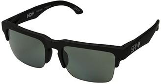 Spy Optic Helm 50/50 (Soft Matte Black/HD Plus Gray Green Polar) Fashion Sunglasses