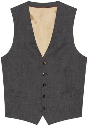 Gucci Wool formal vest
