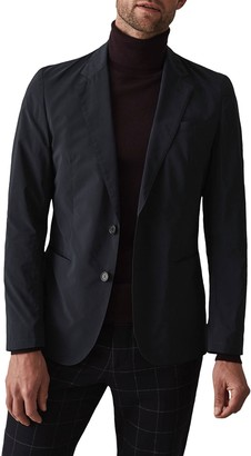 Reiss Unique Notch Collar Double Button Jacket
