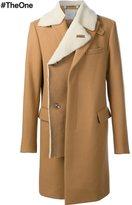 Sacai shearling coat