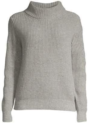 Peserico Rib-Knit Merino Wool & Cashmere-Blend Sweater