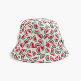 J.Crew Girls' bucket hat in mini watermelon