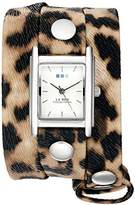 La Mer Women's Quartz Silver-Tone Casual WatchMulti Color (Model: WANDERLUST00003)
